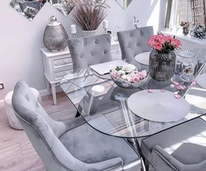 cozy, decorations, and dining room image