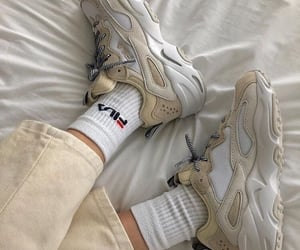 sneakers, fashion, and Fila image