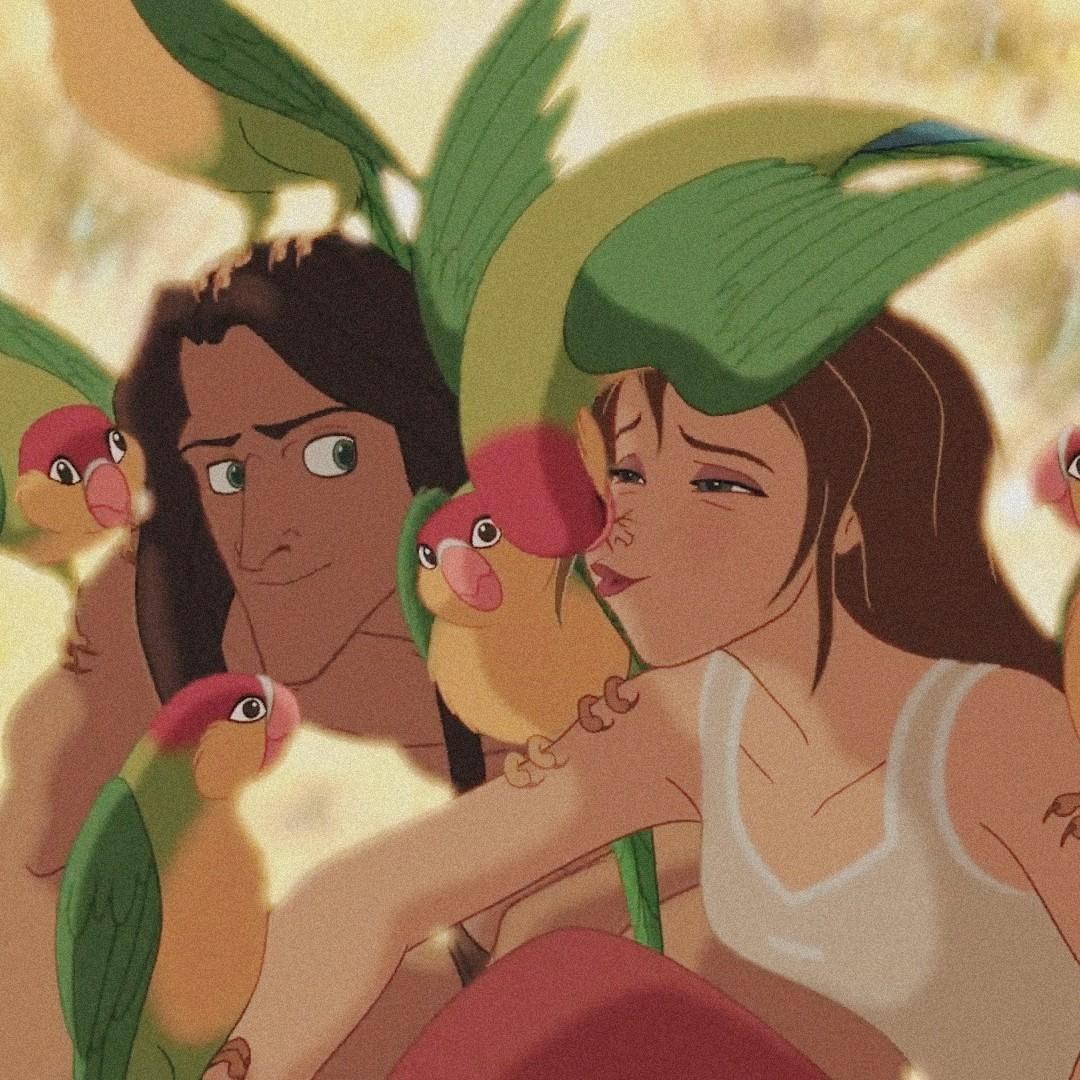 animation, birds, and cartoons image