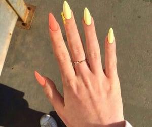 nails, ring, and cute image