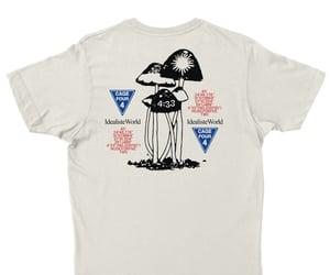 mushroom, tshirt, and cute image