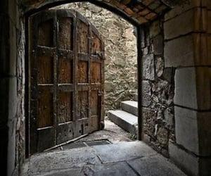 castle and door image