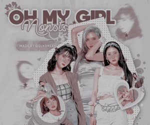 aesthetic, soft, and oh my girl image