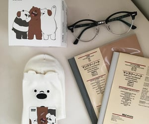 aesthetic, we bare bears, and glasses image