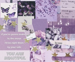 aesthetic, lavender, and lilac image