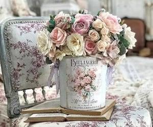 belleza, retro, and flores image