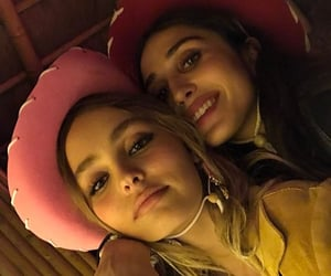 icon, lily rose depp, and amelia kring image