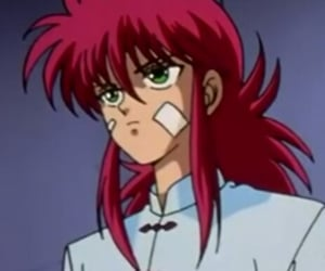 anime, yu yu hakusho, and kurama image