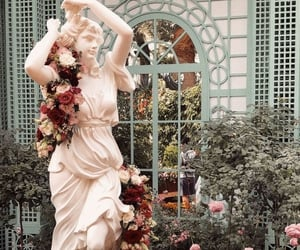 garden, aesthetic, and flowers image