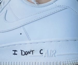 nike, shoes, and i don't care image
