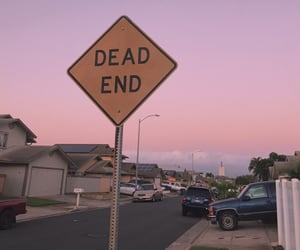 dead, end, and pink image