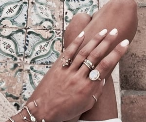 aesthetic, classy, and nails image