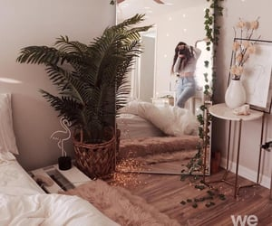 bed, decor, and aesthetic image