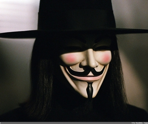 movie, v, and v for vendetta image