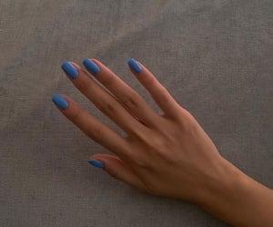 nails, blue, and fashion image