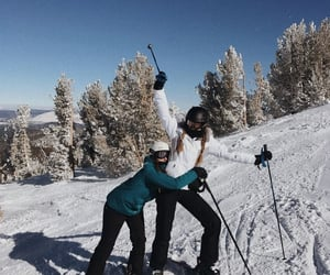 ski, Skiing, and snow image