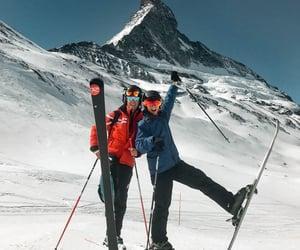 friendship, ski, and Skiing image