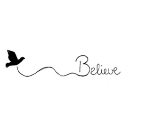 believe, bird, and quotes image