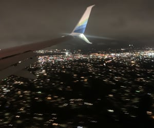 aesthetic, airplane, and city image