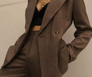 blazer, gold, and outfit image