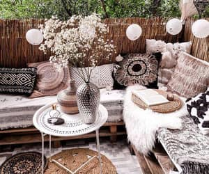 backyard, outdoor furniture, and outdoor ideas image