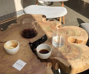 coffee, home, and table image
