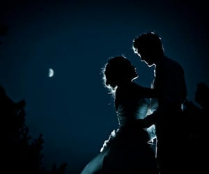 love and night image