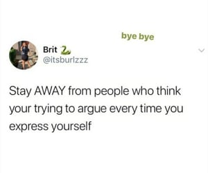 argue, express, and fight image