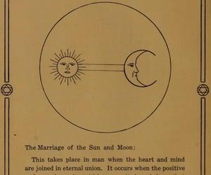 horoscope, moon, and sun image
