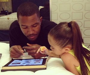 frank ocean, child, and father image