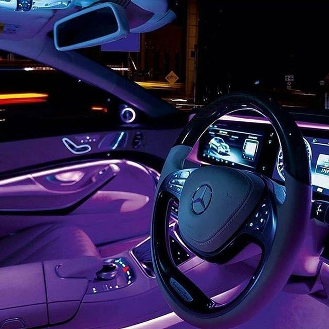 car, purple, and aesthetic image