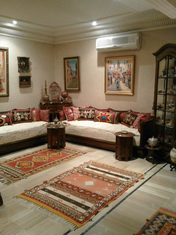 article, moderne salon maison, and decoration;salon luxe image