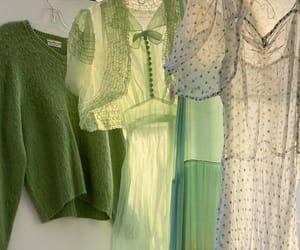aesthetic, green, and clothes image