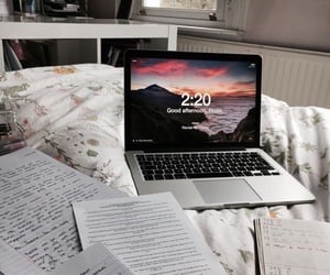 laptop, aesthetic, and quote image