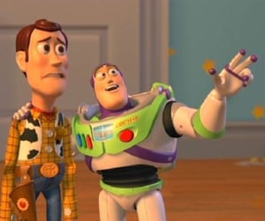 buzz lightyear, funny, and toy story image
