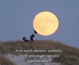 quotes, aesthetic, and moon image