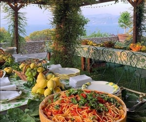 italy, pasta, and food image