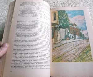 etsy, old book, and russia image