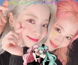 twice, sana, and dahyun image