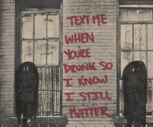 quotes, drunk, and love image