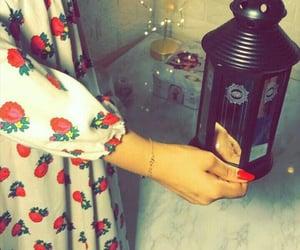 girl, nails, and Ramadan image