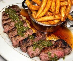 carne, comida, and food image