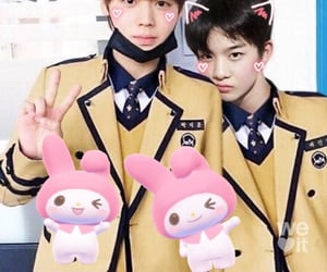 kpop, cix, and cute image