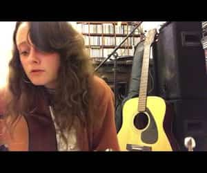 acoustic guitar, angst, and video image