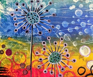 paintings, art, and mixedmedia image