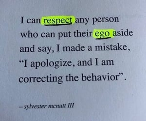 quotes, words, and respect image
