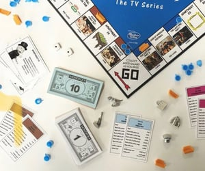 board game, tv series, and monopoly image