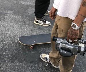 skate, aesthetic, and skateboard image