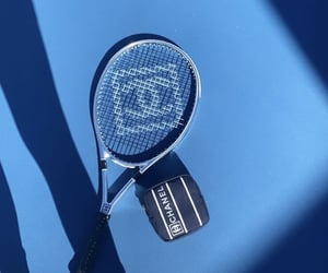 blue, chanel, and tennis image