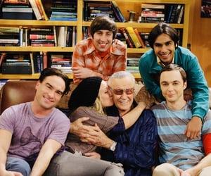 stan lee, penny, and the big bang theory image